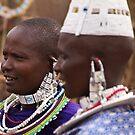 Maasai women by Philip Alexander