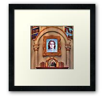 The Enchanted Library Framed Print