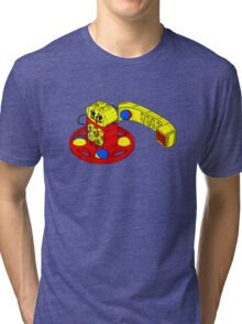 The Duplo Telephone Rattle In Original Version Tri-blend T-Shirt