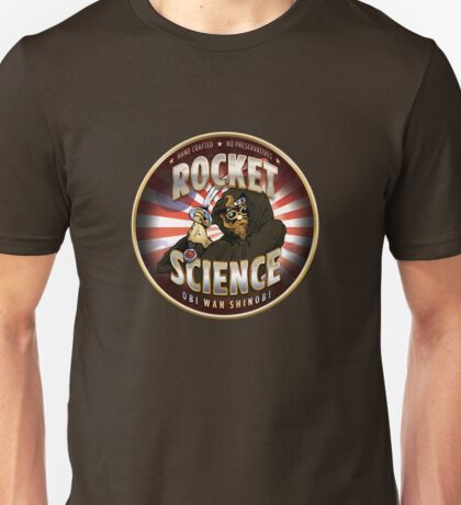 Rocket Science Obi Wan Shinobi Unisex T-Shirt