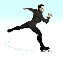 Khan on ice! by kafers
