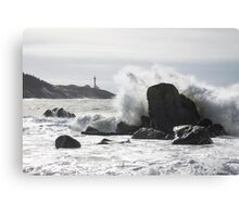 You are not home until you can hear the wave Canvas Print