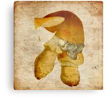 Mortal mushroom Metal Print