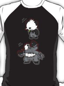 Pancham & Pangoro Distressed Style T-Shirt