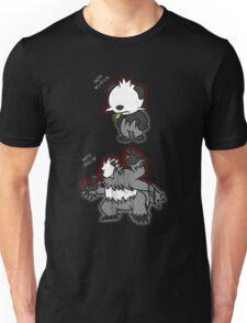 Pancham & Pangoro Distressed Style Unisex T-Shirt