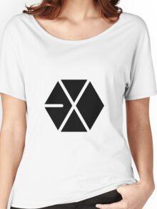 [Kpop:] EXO T-Shirt Women's Relaxed Fit T-Shirt