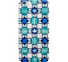 Traditional Portuguese glazed tiles iPhone Case/Skin