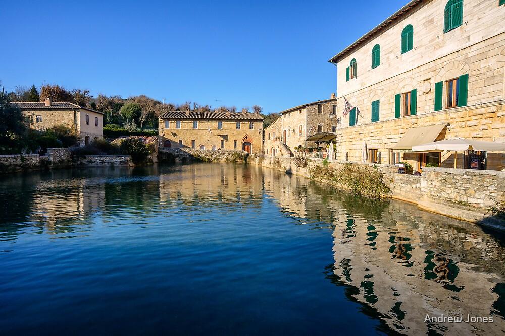 Etruscan Baths, Bagno Vignoni, Tuscany, Italy by Andrew Jones