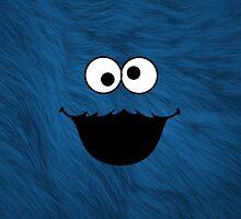 Cute Cookie Monster by Electraa
