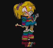 Rainboo Died Womens Fitted T-Shirt