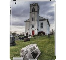 Old Ominous Church and Cemetery iPad Case/Skin