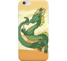 Green-Tea Dragon iPhone Case/Skin