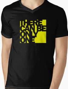 Highlander - There Can Be Only One Mens V-Neck T-Shirt