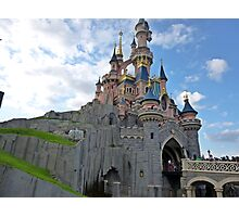 Walt-Disney Paris Castle Photographic Print