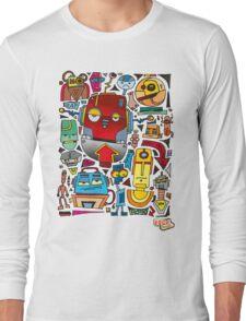 CRAZY DOODLE Long Sleeve T-Shirt