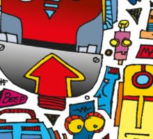 CRAZY DOODLE Sticker