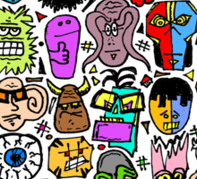 CRAZY DOODLE 2 Sticker