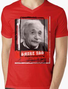 SMART ASS Mens V-Neck T-Shirt