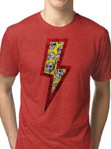 SKULL STRIKE Tri-blend T-Shirt