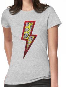 SKULL STRIKE Womens Fitted T-Shirt