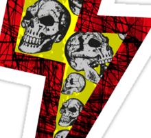 SKULL STRIKE Sticker