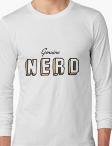OLD SCHOOL NERD Long Sleeve T-Shirt