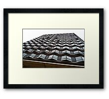 AA115 1960,s Architecture  Framed Print