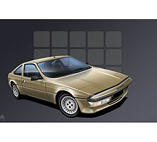 Matra Murena Poster Illustration by Autographics