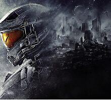 Halo 5 - Master Chief by NIKOLAOS KOUSATHANAS
