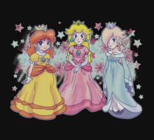 Princess Peach, Daisy and Rosalina Kids Clothes