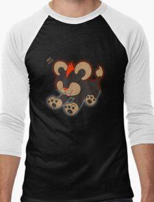 Litleo Distressed  Men's Baseball ¾ T-Shirt
