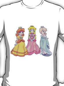Princess Peach, Rosalina and Princess Daisy T-Shirt