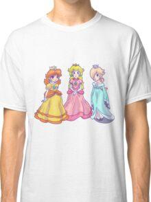 Princess Peach, Rosalina and Princess Daisy Classic T-Shirt