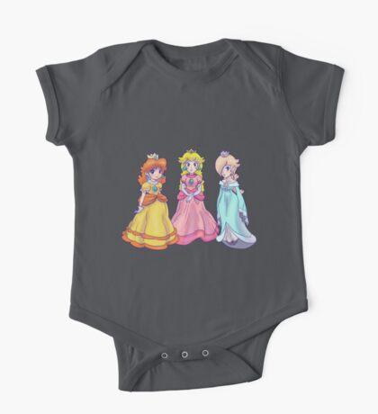 Princess Peach, Rosalina and Princess Daisy One Piece - Short Sleeve
