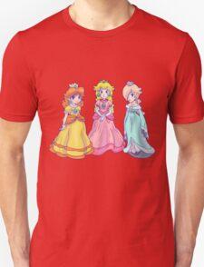 Princess Peach, Rosalina and Princess Daisy T-Shirt