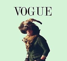 Snape Vogue by MeganHilleard