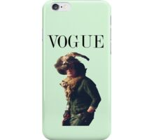 Snape Vogue iPhone Case/Skin