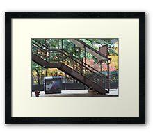 Madison and Wabash Framed Print