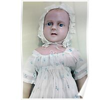 Vintage Baby Doll Collectable Rare Antique Toy Poster