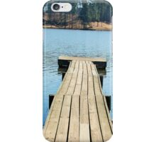 Pier Leading into the Lake iPhone Case/Skin