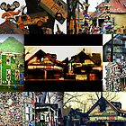 The Houses from the Heidelberg Project, Detroit by Karen Stevens