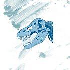 Tyrannosaurus Skull by yunnn