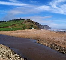 Charmouth on a Sunny Day by hootonles
