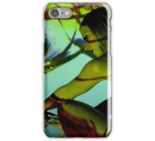 Projection shoot with girl iPhone Case/Skin