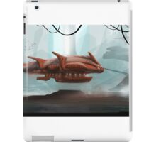 The red starship iPad Case/Skin