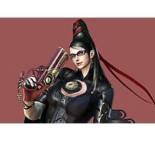 Smash Bayonetta Photographic Print
