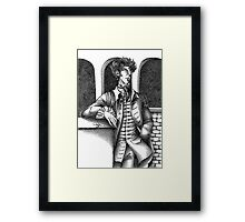 Sherlock - Alternative Universe Framed Print