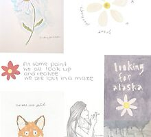 Looking for Alaska Collage  by SamDixon5