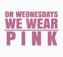 on wednesdays we wear pink by proshop