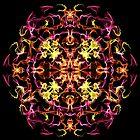 Mandala Fire by BluedarkArt